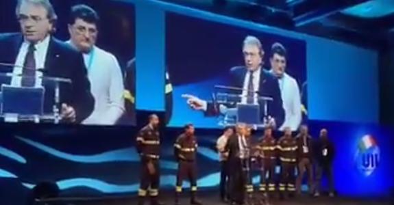 #Couil2017 Il Segretario generale Alberto Civica ricorda il prezioso lavoro dei vigili del fuoco