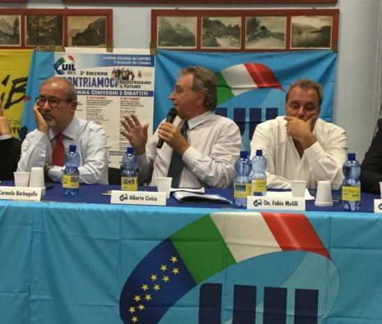 Tavolo per Roma, Alberto Civica al Tg3