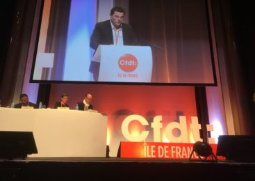 La Uil al 55 Congresso della Unione regionale Cfdt–Ile de France