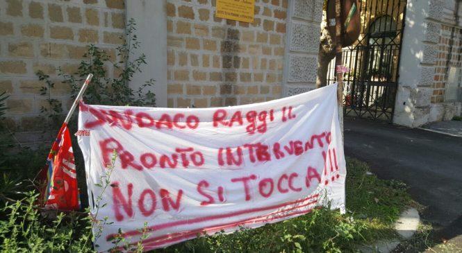 La protesta dei dipendenti Italgas al Tg3 del Lazio