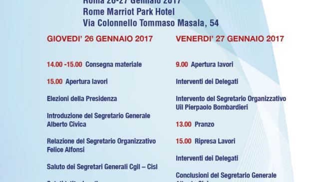 9° Conferenza Regionale di organizzazione Uil di Roma e Lazio