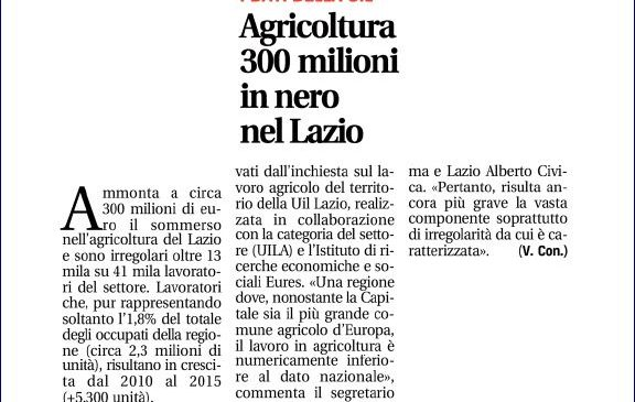 Agricoltura, la nostra inchiesta su Leggo