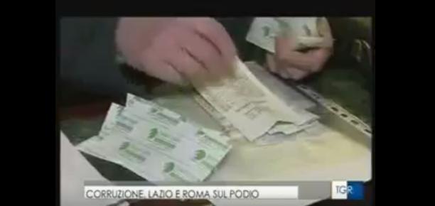 Il Lazio tra le regioni più corrotte d'Italia. Alberto Civica al Tg3REGIONE