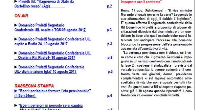 Osservatorio Previdenziale – n. 9/2017