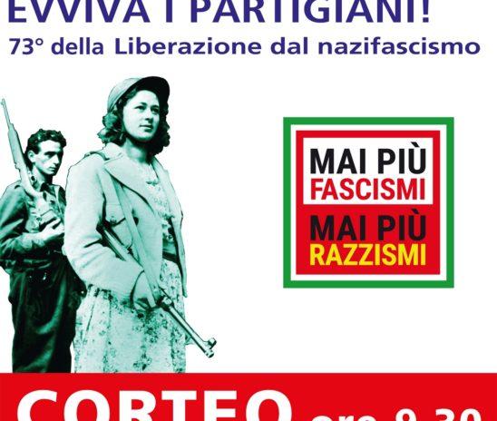Liberazione dal nazifascismo. Il corteo del 25 Aprile