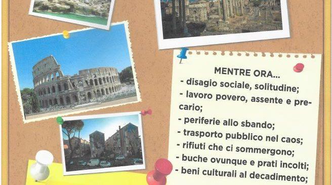 Quanto eri bella Roma…Cgil, Cisl e Uil in piazza il 6 giugno