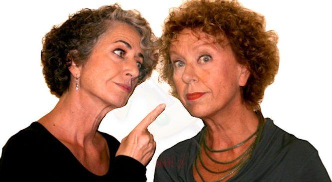 """SUGO FINTO"""" divertente commedia con PAOLA TIZIANA CRUCIANI e ALESSANDRA COSTANZO"""