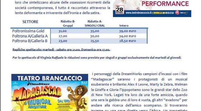 Teatro Brancaccio – Stagione 2017-2018