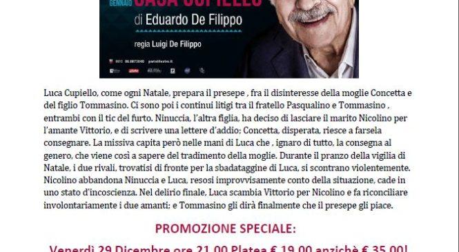 Teatro parioli DICEMBRE 2017