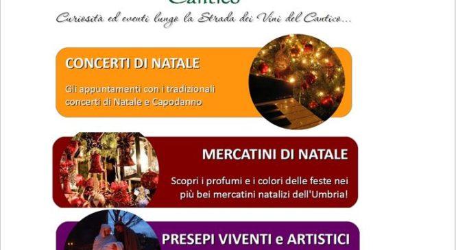 Speciale Natale in Umbria – Mercatini, Concerti, Presepi…