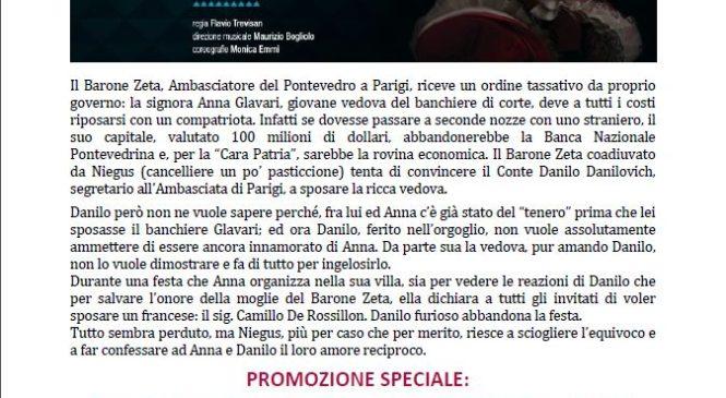 Teatro Parioli – La vedova allegra