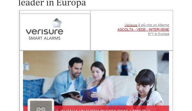 Proteggi la tua casa con l'Allarme leader in Europa