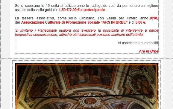 Ars in Urbe – Palazzo Cesi – Armellini **Permesso Speciale**