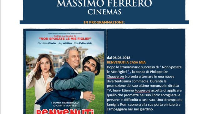 Ferrero Cinemas Newsletter MARZO