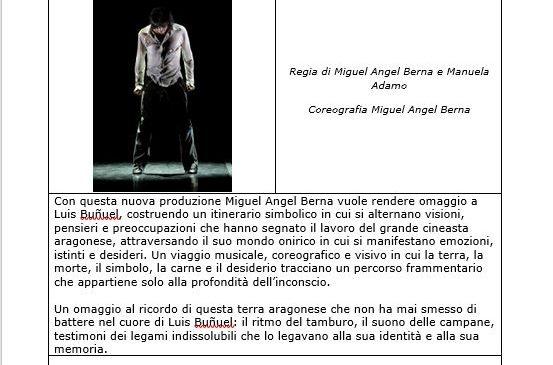 Teatro Olimpico – Miguel Angel Berna – Berna & Buñuel – Tierra Y Alma