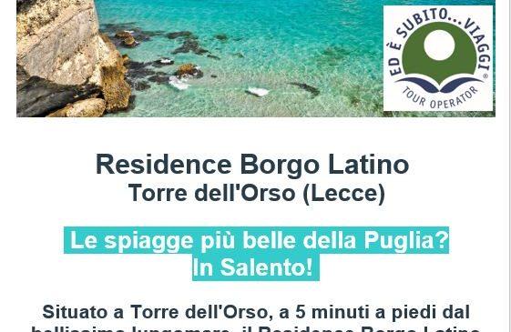 Ed è Subito Viaggi – Residence Borgo Latino