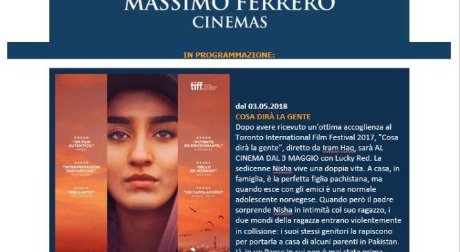 Massimo Ferrero – Programmazione Maggio