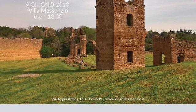 ARCHEOYOGA – VILLA MASSENZIO – SABATO 9 GIUGNO 2018 ORE 18.00