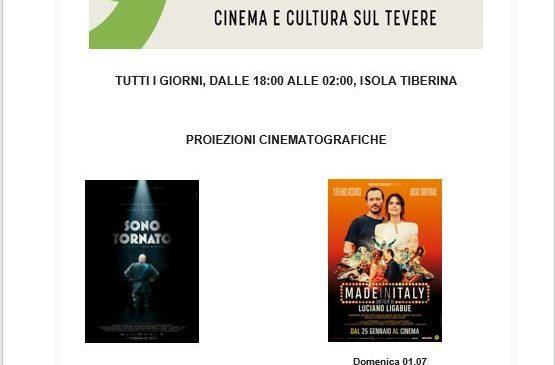 Isola del Cinema – Programma 28 giugno 3 luglio
