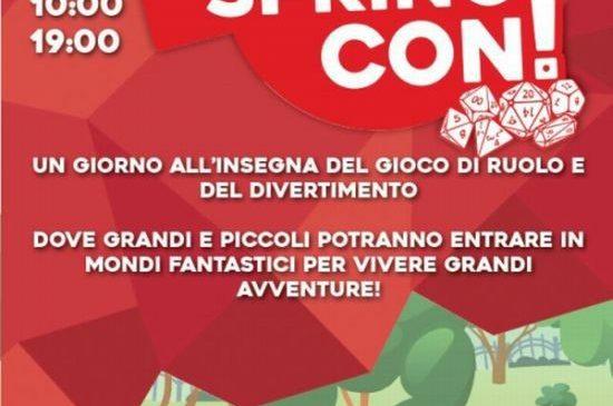 """""""ROMA SPRING CON"""" – CASINA DI RAFFAELLO – SABATO 16 GIUGNO 2018 DALLE ORE 10 ALLE 19"""