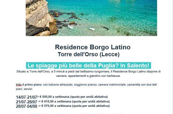 Residence Borgo Latino (Torre dell'Orso)