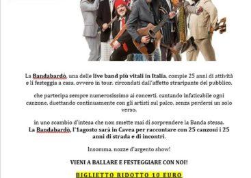 AUDITORIUM PARCO DELLA MUSICA –  BANDABARDO' IN PROMOZIONE | VIENI A FESTEGGIARE CON NOI!
