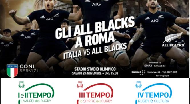 Promo Italia vs All Blacks