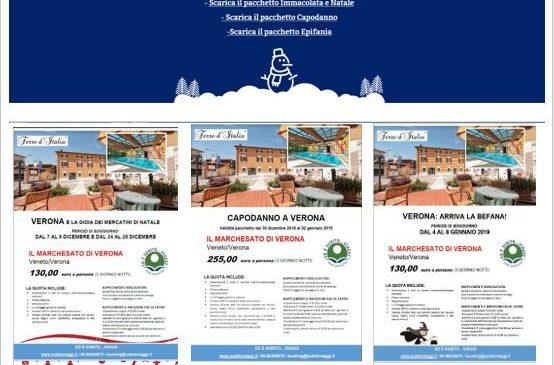 ED È SUBITO…VIAGGI  Posti e festività-Marchesato di Verona