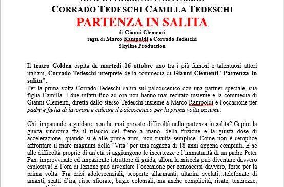 TEATRO GOLDEN – PROSSIMO SPETTACOLO