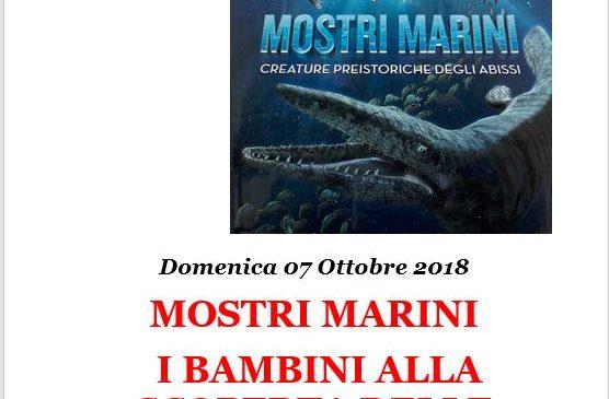 MOSTRI MARINI – I BAMBINI ALLA SCOPERTA DELLE CREATURE PREISTORICHE DEGLI ABISSI