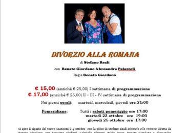 Teatro Manzoni – Divorzio all'italiana