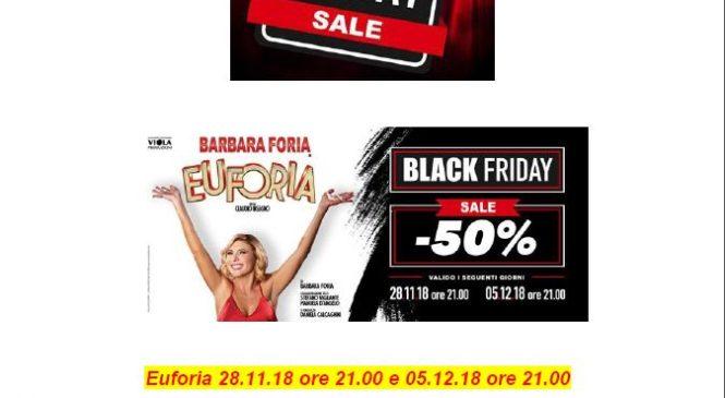 Date BlackFriday Sala Umberto