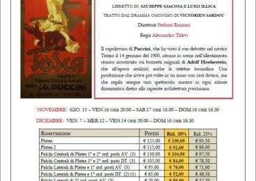 Teatro dell'opera Tosca