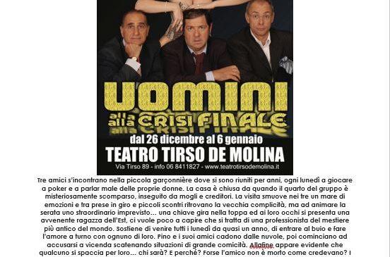 Capodanno Teatro Tirso