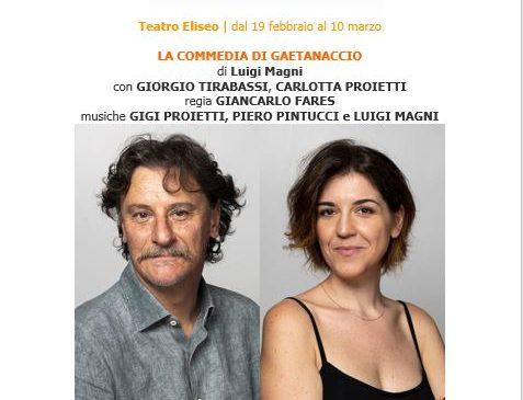 Tirabassi e Proietti nella commedia musicale di Luigi Magni
