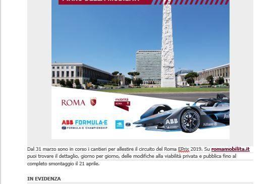 Torna la Formula E a Roma, scopri il piano di mobilità