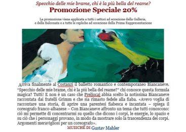 Biancaneve – Promozione Speciale 20%