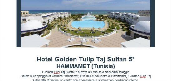 Tunisia **Golden Tulip Taj Sultan**