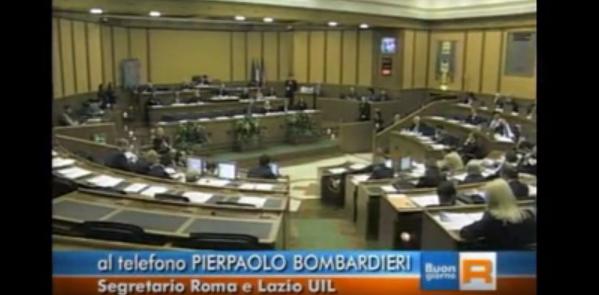 I Costi della Politica regionale a Buongiorno Regione Lazio