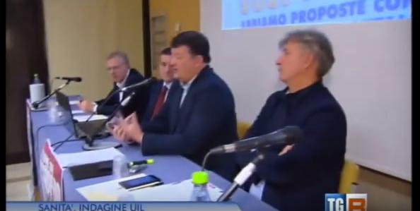 Lo stato della Sanità nel Lazio. Pierpaolo Bombardieri al Tg3 regione