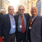 Felice Alfonsi e Francesco Fatiga con la delegazione israeliana