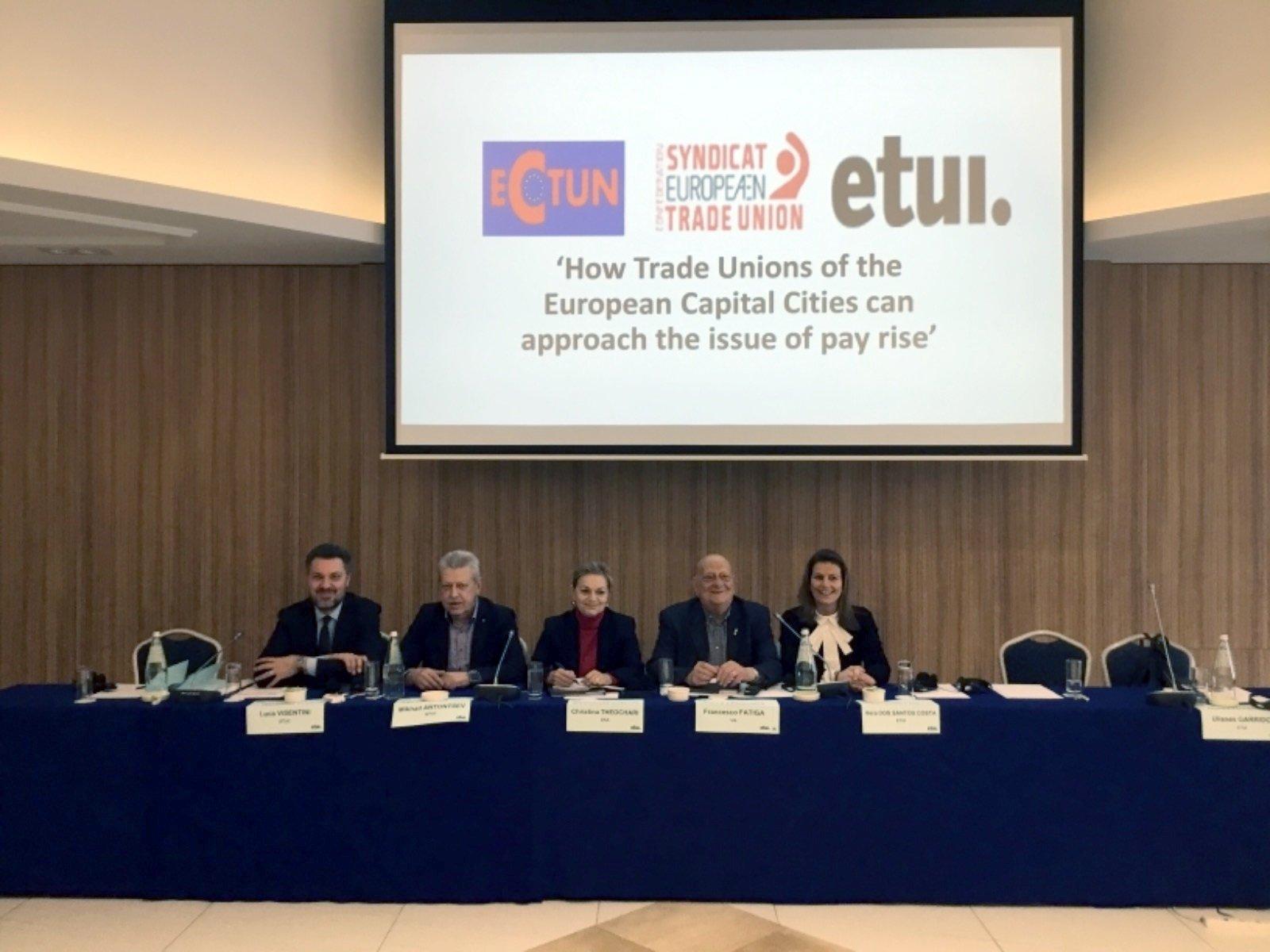 La Uil del Lazio alla guida dei sindacati del sud Europa