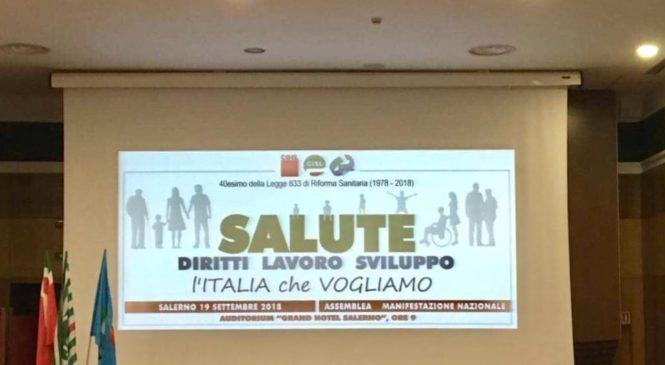 A Salerno per il quarantennale della legge sulla riforma sanitaria