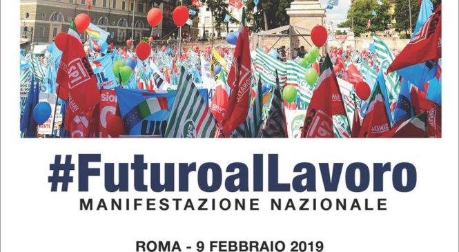 #FuturoalLavoro. Manifestazione nazionale il 9 Febbraio a Roma