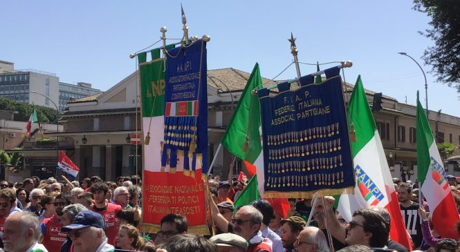 La festa della Liberazione tra commemorazioni e manifestazioni