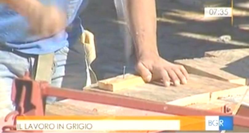 Lavoro nero, la Uil del Lazio a Buongiorno Regione (prima parte)