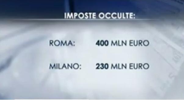 Tasse occulte nel Lazio. Alberto Civica al Tg3 regionale