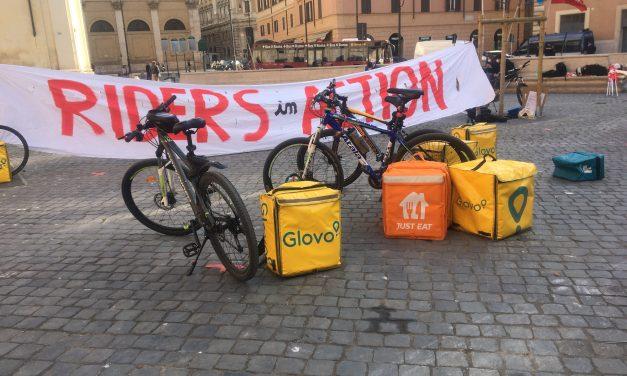 #NoDeliveryDay. La Uil in piazza per i diritti dei Rider