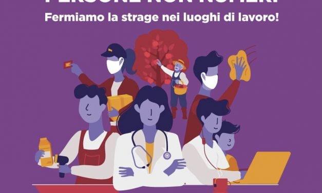 #FermiamoLaStrageSulLavoro. Cgil Cisl e Uil del Lazio in piazza