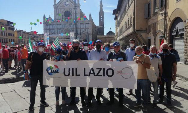 #RipartiamoInsieme. La Uil del Lazio a Firenze